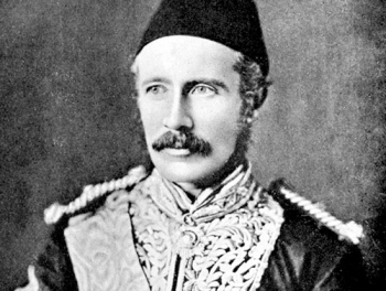 "Major General Charles ""Chinese"" Gordon, 1833-1885, wearing his Egyptian uniform"