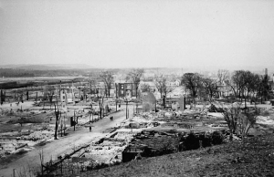 Jenkins sang about the resilience of LeBreton Flats residents after the 1900 fire.